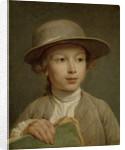 Boy with a Drawing Book by Nicolas Bernard Lépicié