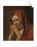 Woman Praying by Circle of Caesar Boëtius van Everdingen