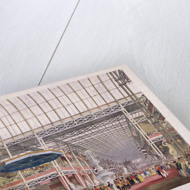 Great Exhibition, Crystal Palace, Hyde Park, London by