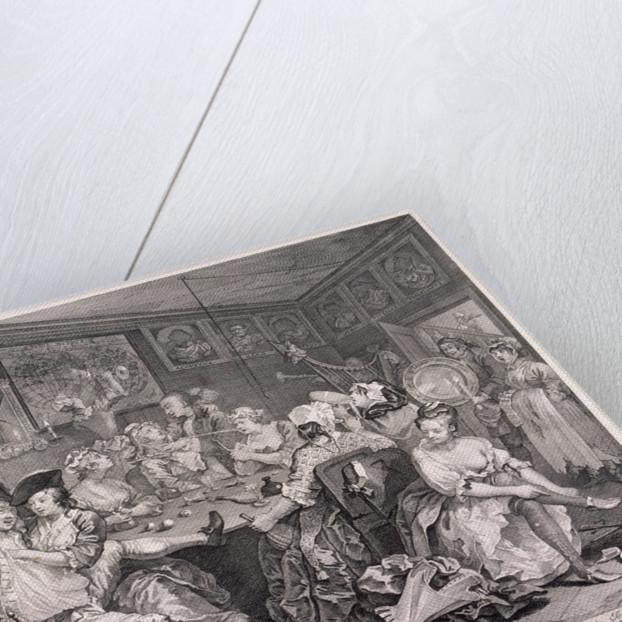 A Rake's Progress, plate III of VIII by William Hogarth