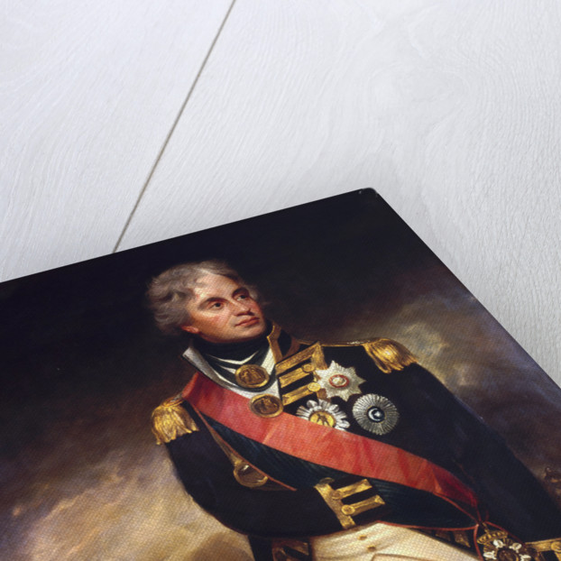 Viscount Horatio Nelson by Sir William Beechey