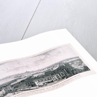 View of London from Islington by Johannes Swertner