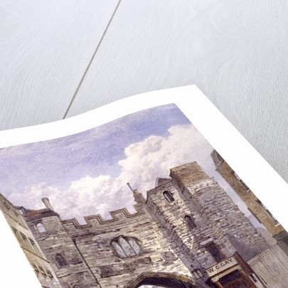 St John's Gate, Clerkenwell, London by John Crowther
