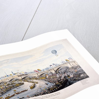 Opening of London Bridge (New), London by Anonymous