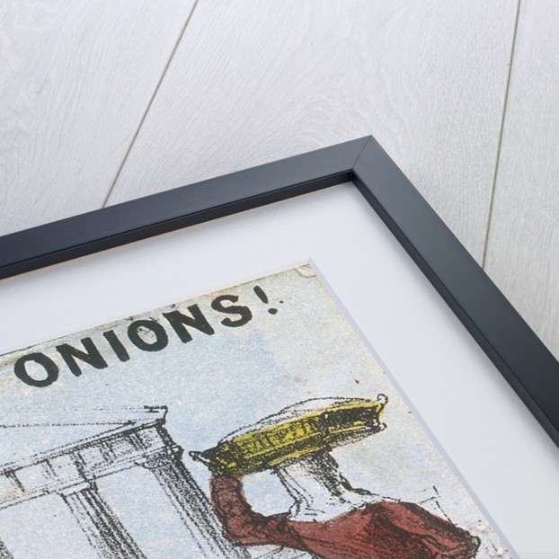 Onions, Fine Onions!, Cries of London by TH Jones