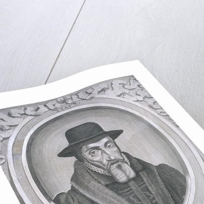 Oval portrait of John Foxe, c1570 by