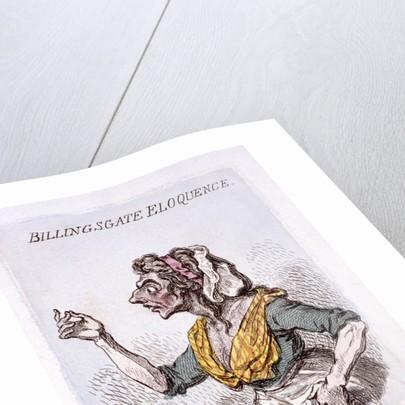 Billingsgate eloquence by James Gillray
