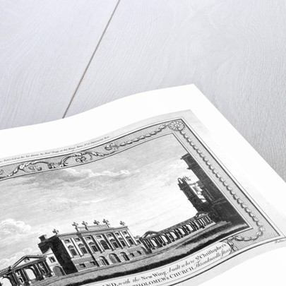 View of the Bank of England showing the new wing by John Peltro