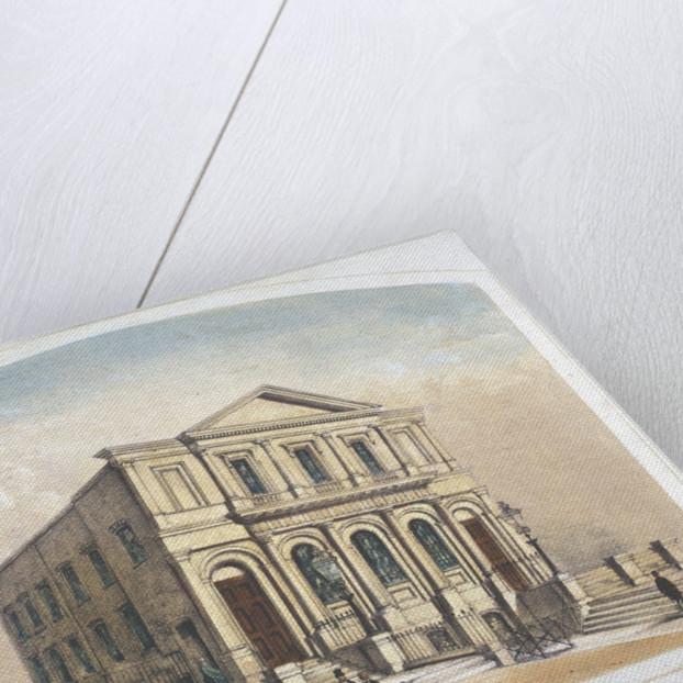 View of Bishopsgate Congregational Chapel, Bishopsgate, City of London by Anonymous