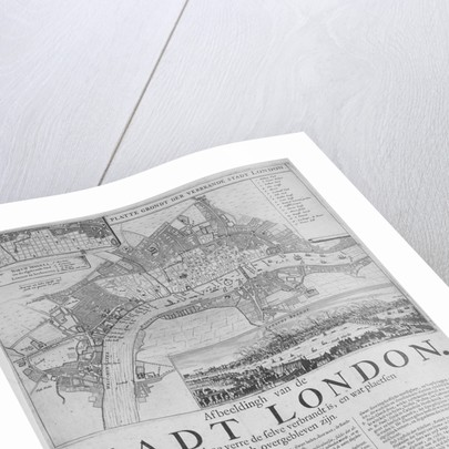 Map of London by Anonymous