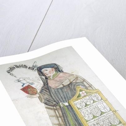 Nicholas Wyfold, Lord Mayor of London 1450-1451, in aldermanic robes by