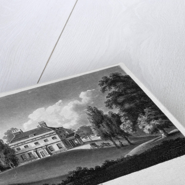 View of Woodlands House, Blackheath, Greenwich, London by Anonymous