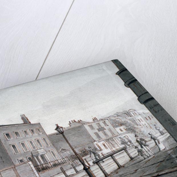 View of Upper Street, Islington, London by CH Matthews