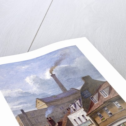 The White Hart Inn, High Street, Shadwell, London by JT Wilson