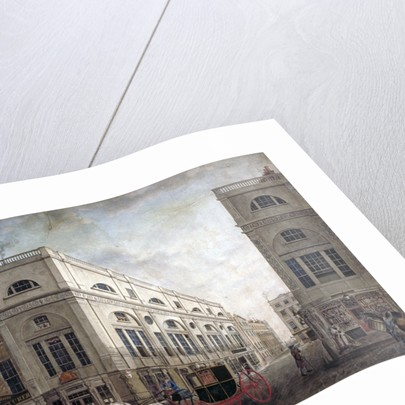 Street scene in Westminster, London by