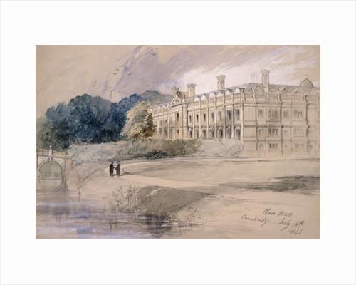 Clare Hall, Cambridge by Thomas Hosmer Shepherd