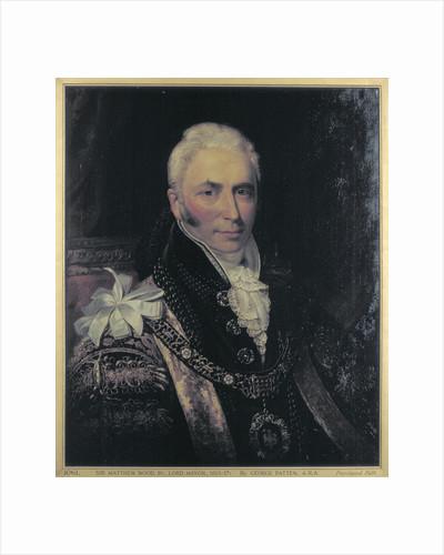 Sir Matthew Wood, Lord Mayor 1815-1817 by English School