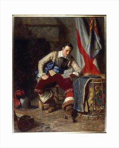 The Standard Bearer by John Seymour Lucas