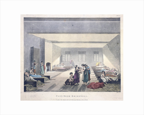 Pass-Room Bridewell by Anonymous