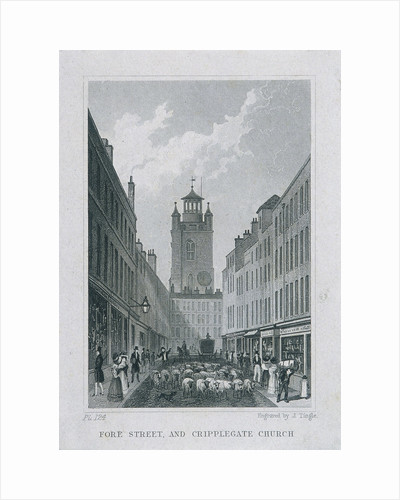Fore Street, London by James Tingle
