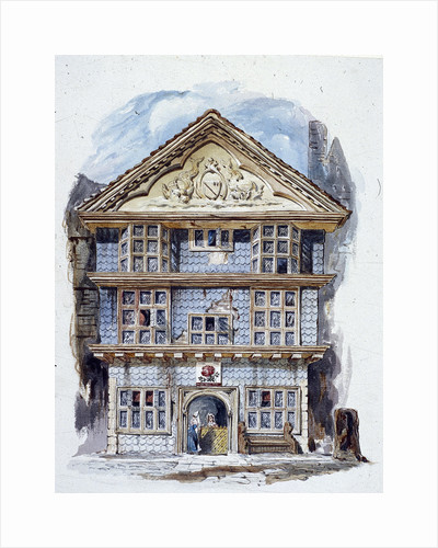 The Rose Tavern, Fenchurch Street, London (1805?) by C Matthews
