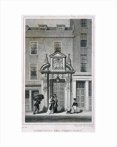 Fishmongers' Hall, Thames Street, London by Anonymous