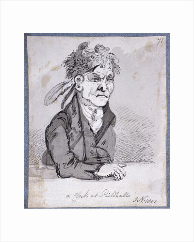 Clerk from the Guildhall's Law Courts by John Nixon