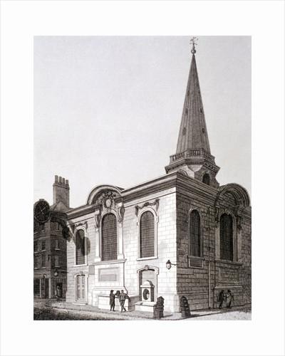 St Swithin London Stone, London by Joseph Skelton