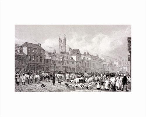 Smithfield Market, London by George Cooke