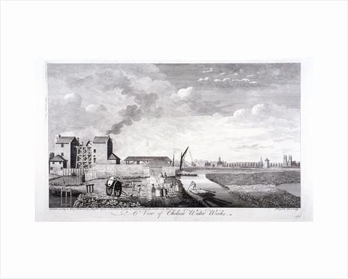 The Chelsea Water Works, London by John Boydell