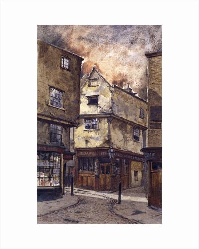 Dick Whittington Inn, Cloth Fair, London by John Crowther