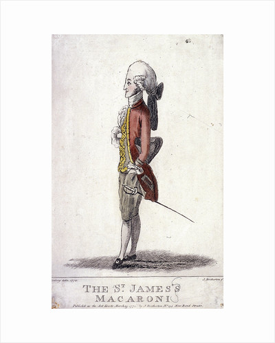 The St James's Macaroni by James Bretherton