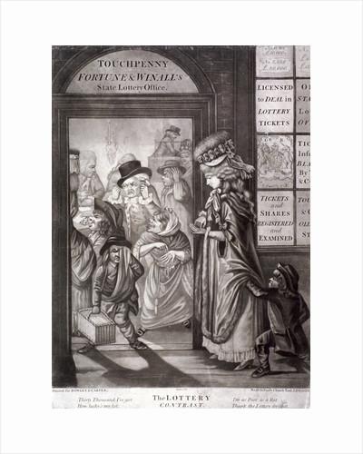 The Lottery Contrast by Louis du Guernier