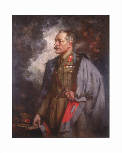Field Marshall the Earl Haig by Albert Chevallier Tayler