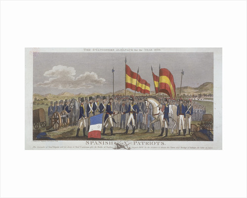 Spanish patriots by Anonymous