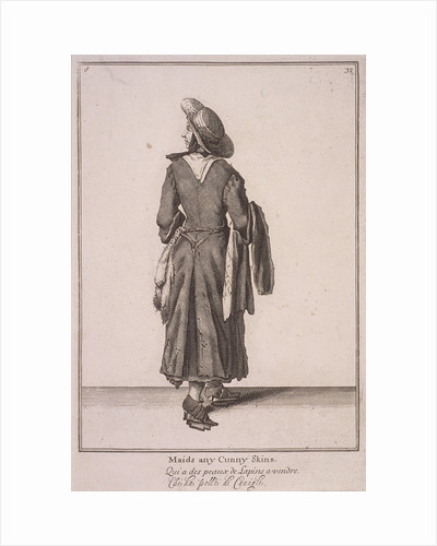 Maids any cunny skins, Cries of London, (1688?) by Anonymous