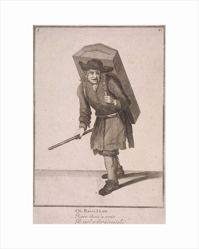 Oh Raree Show, Cries of London, (1688?) by Anonymous