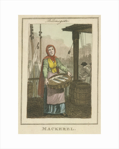 Mackerel , Cries of London by Anonymous