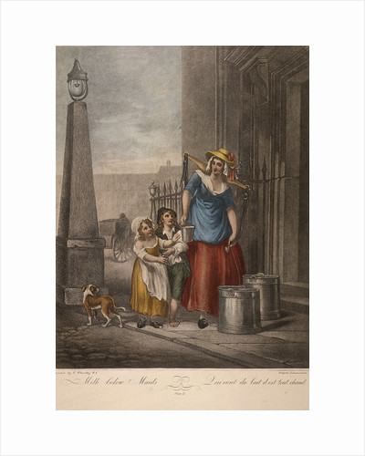 Milk below Maids, Cries of London by Anonymous