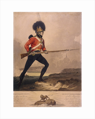 Soldier of the third regiment of the Loyal London Volunteers by Anonymous