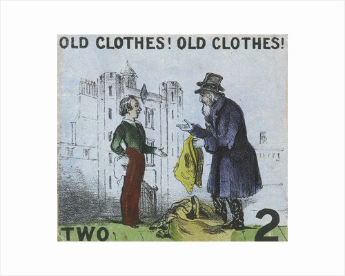 Old Clothes! Old Clothes!, Cries of London by Thomas Prattent