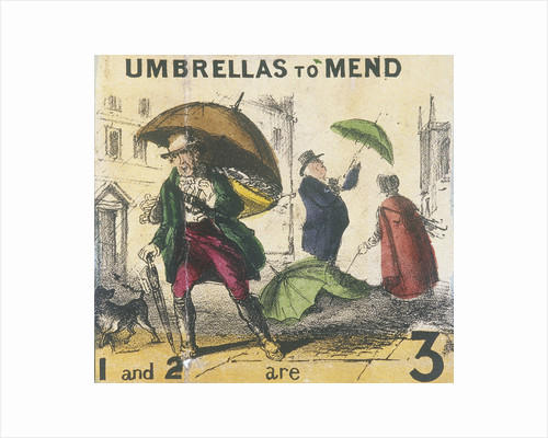 Umbrellas to Mend, Cries of London by Anonymous