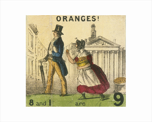 Oranges!, Cries of London by Anonymous