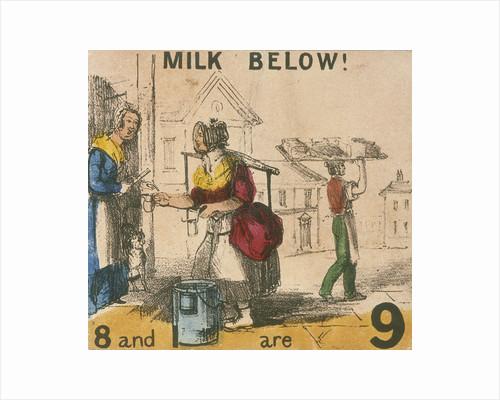 Milk Below!, Cries of London by Corbis