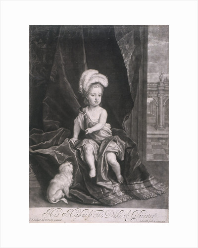 William, Duke of Gloucester, as a child by Joseph Smith