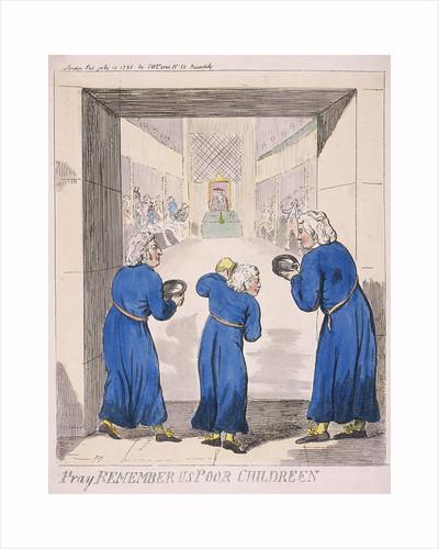 Pray remember us poor children by Isaac Cruikshank