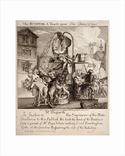 William Hogarth by Paul Sandby