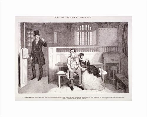 The Drunkard's Children by George Cruikshank