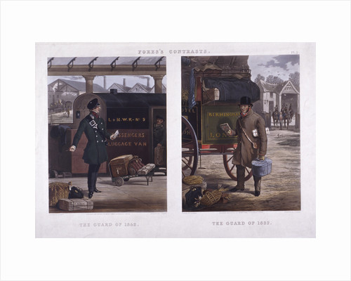 The Guard of 1852' and 'The Guard of 1832 by J Harris