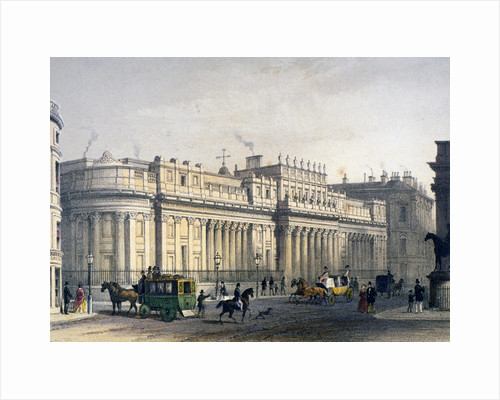 View ofThe Bank of England, City of London by Jules Louis Arnout
